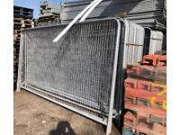 🏗 *New* Round Top Heras Temporary Security Fencing Sets X 35 - Panels/Feet/Clips