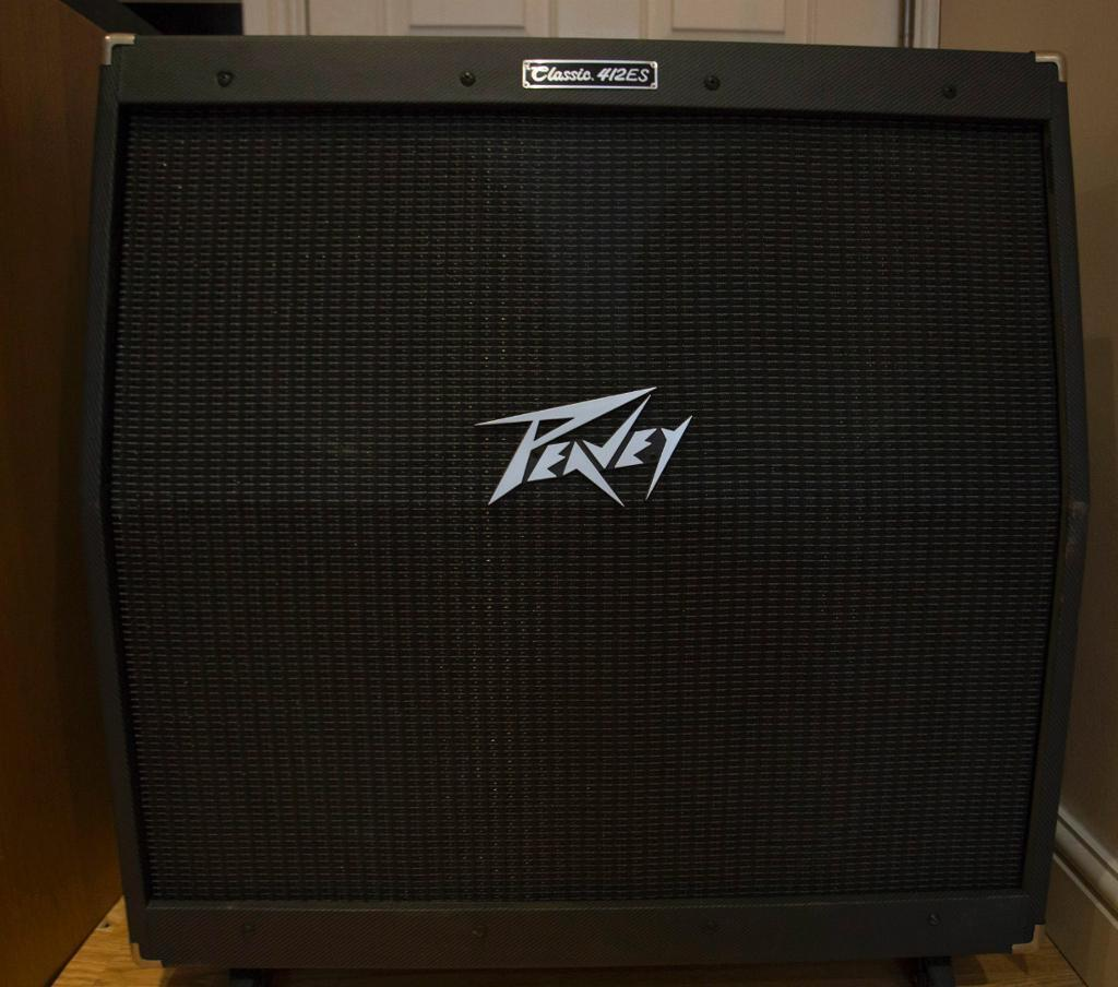 Peavey Classic Cabinet Peavey Classic 412es 4x12 Black Tweed Stereo Guitar Speaker