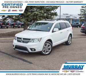 2015 Dodge Journey R/T AWD *Leather *NAV *8 Pass *DVD