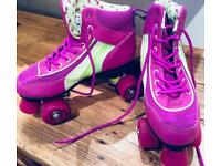 Rollerskates quality Rio quad outdoor or roller disco skates