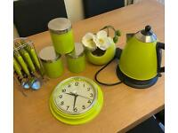 Kitchen green set