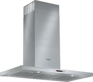 Bosch 500 Series HCB56651UC 36 Chimney Hood With 600 CFM, Wall Mounted, Dishwasher Safe Filters