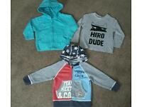 1-1.5 (12-18months) bundle of Next and george @ Asda hoodies and top