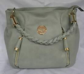grey fashion bag