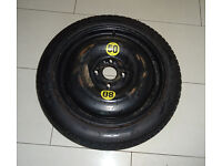 Mini Space Saver spare wheel + tyre. Fit R57 model (2007 to 2015)