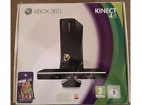 Xbox 360 Kinect 4GB with 4 games and controller