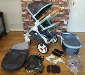 icandy peach dc designer collection full travel system