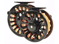 Airflo Enigma M3 fly fishing reel, brand new and boxed. Large arbor reel, 6/8 line capacity