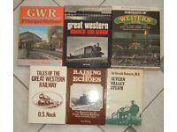 11 Great Western Railway Books.