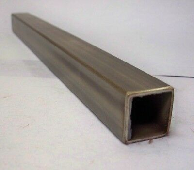 1 Stainless Square Tube X 116 Wall X 13 Long
