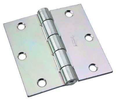 National Hardware N140-616 Non-Removable Pin Hinge, 3-1/2