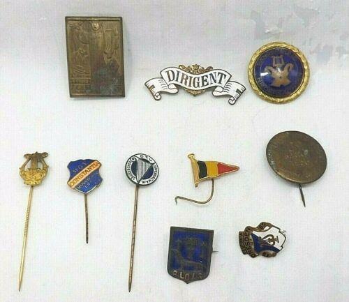 German Military & Propaganda PINS (T1544)