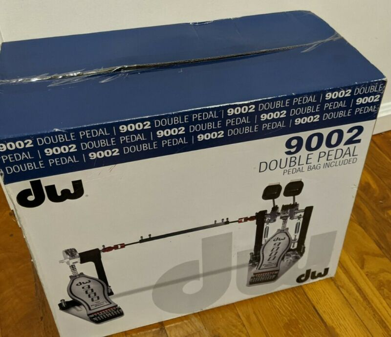 DW 9002 Double Kick Pedal with Bag