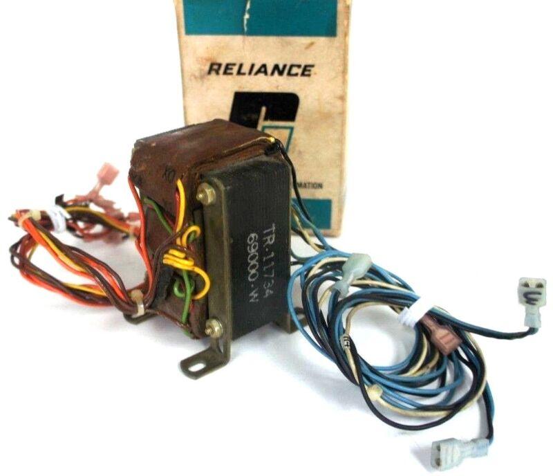 RELIANCE ELECTRIC 69000-3W TRANSFORMER ASSEMBLY 460V 690003W