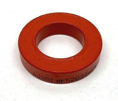 Aj351 52032-2n Orange Toroid Torroidal Inductor Ferrite Core 40mm X 23mm X 9mm