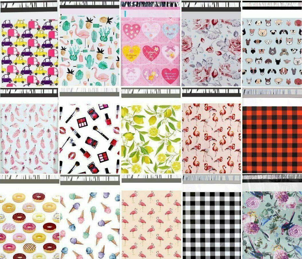 как выглядит 10x13 Choose Favorite Boutique Designer Poly Mailer Bags Fast Shipping BM1215 фото