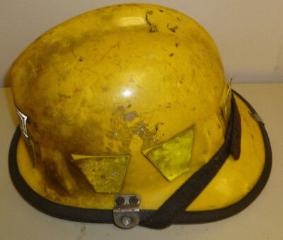 Firefighter Bunker Turn Out Fire Gear Cairns 770 Yellow Helmet H179