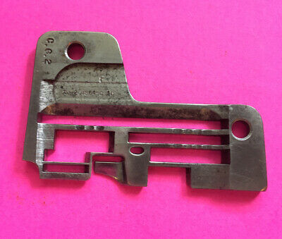 Used 204864-0-10-rimoldi-throat Plate For Sewing Machines-free Shipping