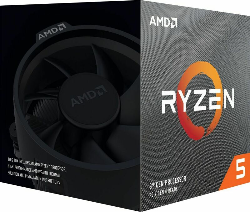 AMD - Ryzen 5 3600X 3rd Generation 6-Core - 12-Thread - 3.8 GHz (4.4 GHz Max ...