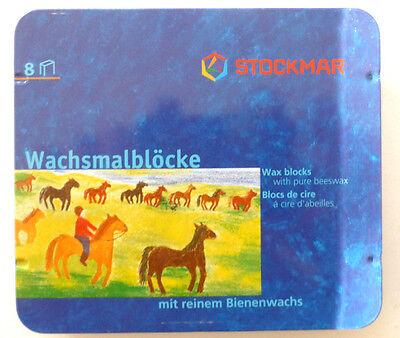 STOCKMAR 8 Stück Wachsmalblöcke Bienenwachs