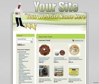 Established Cooking Recipes Food Website For Sale Affiliate Amazon Dropship.