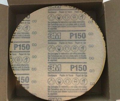 10 Pk - Sand Sanding Paper Disc Polishing 3m Nx Hook And Loop 6 Grit P150