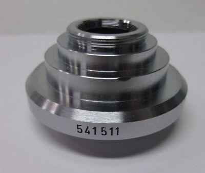 Genuine Leica Microscope C-mount Dovetail Adapter 541511 Hc 0.5 X 12