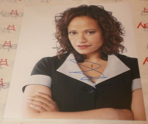 JUDY REYES SIGNED DEVIOUS MAIDS PROMO 8X10 PHOTO AUTOGRAPH COA SCRUBS CLAWS