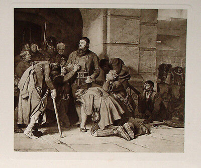 Defregger Andreas Hofer Tirol Freiheitskämpfer zu Mantua in Banden Napoleon