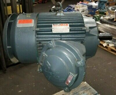 Rebuilt Reliance 10 Hp Electric Motor 460 Vac 1780 Rpm 284t Frame 3 Phase