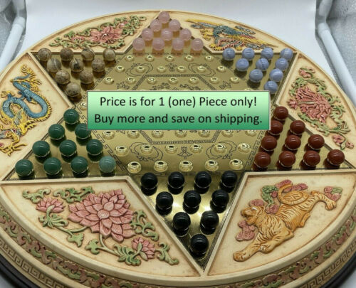 Franklin Mint Chinese Checkers 1 Original Replacement out of 60
