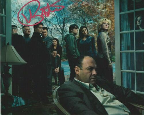 SOPRANOS Vinnie Pastore (Big Pussy)  autographed 8x10 great Cast photo