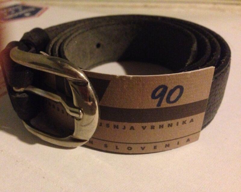 Slovenian Made- Mens Black Belt/30-34- nWT