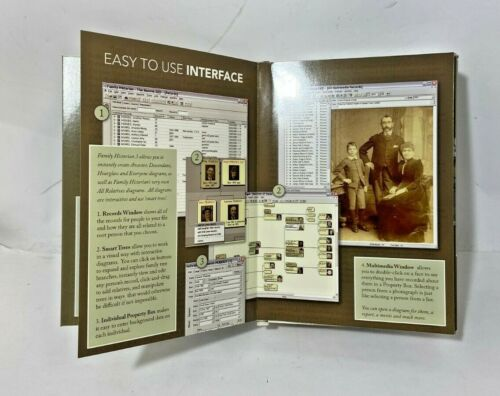 Family Historian 3 Deluxe Genealogy Software