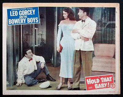 Hold That Baby Leo Gorcey Huntz Hall Bowery Boys 1949 Lobby Card