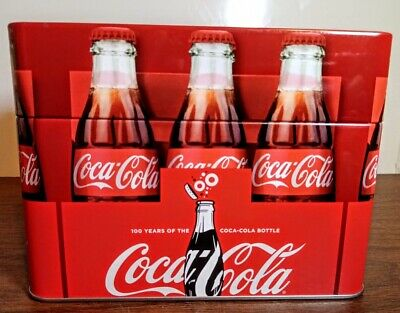 100 Years Of The Coca-Cola Bottle Recipe Tin With Recipe Cards