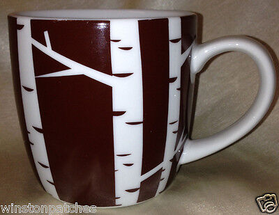 DANICA STUDIO CHINA BIRCH TREE MUG 14 OZ BROWN & WHITE ()