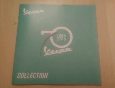 Vespa 70th Anniversary (1946 - 2016) Brochure