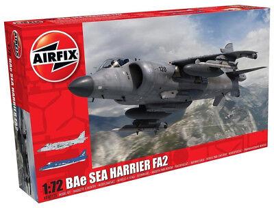 Airfix BAe Sea Harrier FA2 1:72 Scale Plastic Model Plane Kit A04052A