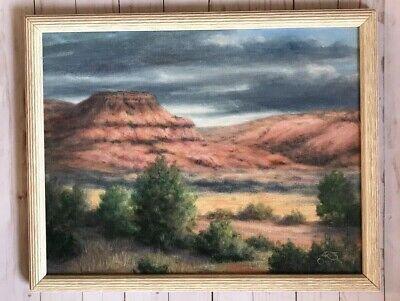 Oil Painting Sedona Or Grand Canyon Arizona Red Rock Landscape Ruth Overton Grand Canyon Arizona Framed