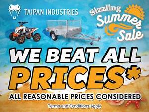 7X5 Welded HotDipGal Taipan Box Trailers Unbeatable Deals! Coopers Plains Brisbane South West Preview