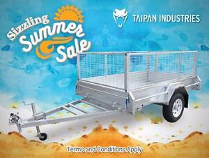 6x4 7x5 7x4 8x5 8x6 10x5 Superior Quality Trailers at Best Price Meadowbrook Logan Area Preview