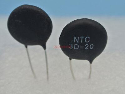 5pcs 3 Ohm 8a Power Ntc Thermistor Surge Current Limiting Mf72-3d20