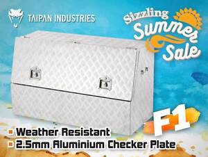Aluminium Side Opening Ute Tool Box - Heavy Duty 1210x500x700mm Coopers Plains Brisbane South West Preview