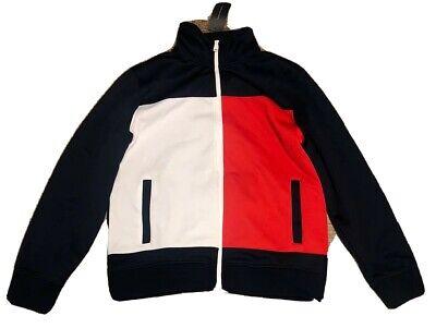 Men's Tommy Hilfiger Red, White Blue Jacket Full-Zip Size Large