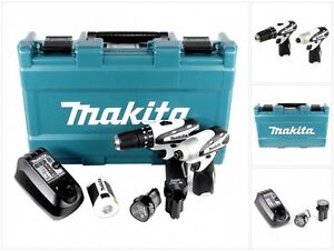 Makita 10,8 V HP 330 Akku Schlag Bohr Schrauber + TD 090 Schrauber + ML101 Lampe