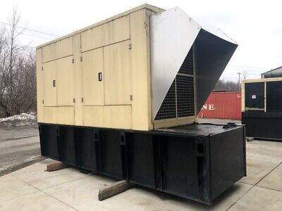 Needs Work 2001 500 Kw Enclosed Diesel Generator Generac 1472640100 277480 V