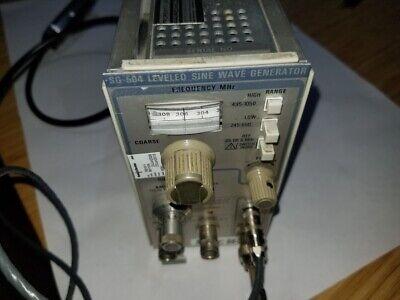 Tektronix Sg504 Leveled Sine Wave Generator With Output Head 015-0282-00 B011534
