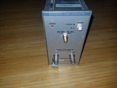Tektronix Microwave Comb Generator Plug-in 067-0885-00 Fully Functional