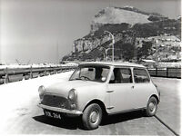 Mini In Gibralter Original Black & White Press Photo Registration Number Yol 264 - mini - ebay.co.uk